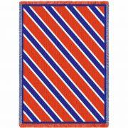 Spirit Blue and Orange Blanket 69x48 inch