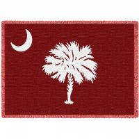 Palmetto Moon Orange Blanket 48x69 inch