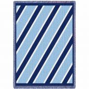 Spirit Blue and Blue Small Blanket 48x35 inch