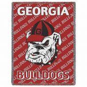 University of Georgia Bulldogs Small Stadium Blanket 35x48 inch