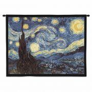 Starry Night Van Gogh Wall Tapestry 34x26 inch