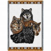 Wolves Blanket 48x69 inch