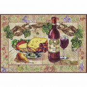 Wine and Cheese Placemat 18x13 inch