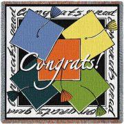 2017 congratulations cap Blanket 54x54 inch