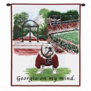 University of Georgia Wall Tapestry 26x34 inch