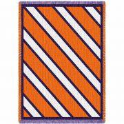 Spirit Purple and Orange Small Blanket 48x35 inch