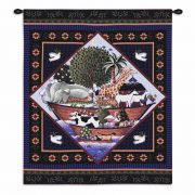 Noahs Ark Coco Wall Tapestry 26x34 inch