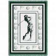 Womans Golf Hunter Blanket 48x69 inch