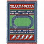 Track And Field Blanket 48x69 inch