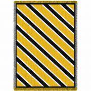 Spirit Black and Yellow Blanket 48x69 inch