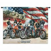 Sturgis Wall Tapestry 34x26 inch