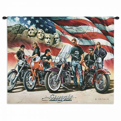 Sturgis Wall Tapestry 34x26 inch - 666576115670 - 5574-WH