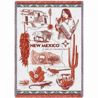 New Mexico Blanket 48x69 inch