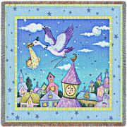 Special Delivery Small Blanket 53x53 inch
