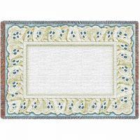 Eyelet Sky Mini Blanket 43x53 inch