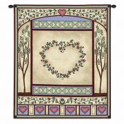Love Quilt II Wall Tapestry 26x32 inch