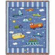 Transportation Toys Small Blanket 34x53 inch