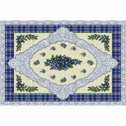 Blueberry Lace Placemat 18x13 inch