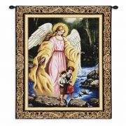 Watch Over You Wall Tapestry 24x6 inch