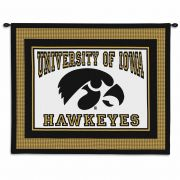 The University of Iowa Wall Tapestry 34x26 inch