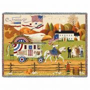 So Proudly We Hail Blanket 54x70 inch