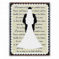 I Do Tapestry Throw 53x70 inch
