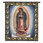 Our Lady Of Guadalupe Wall Tapestry 26x32 inch