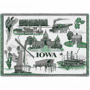 Iowa Blanket 48x69 inch