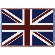 Union Jack Blanket 48x69 inch