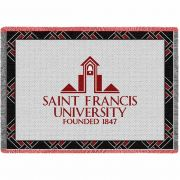 St Francis University Pennsylvania Logo 5 Stadium Blanket 48x69 inch