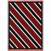 Spirit Red and Black Small Blanket 48x35 inch