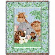 Stuffed Safari Mini Blanket 35x54 inch