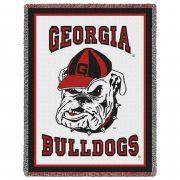 University of Georgia Bulldogs 2 Stadium Blanket 48x69 inch