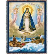 Our Lady of Charity Tapestry Throw 53x70 inch