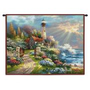 Coastal Splendor Wall Tapestry 34x26 inch