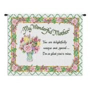 Unique Wonderful Mother Wall Tapestry 34x26 inch