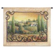 Visions Of Tuscany Wall Tapestry 33x26 inch