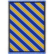 Spirit Blue Gold White Blanket 48x69 inch