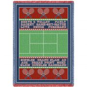 Tennis Court Blanket 48x69 inch