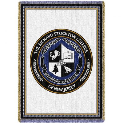 Stockton University -Shield Blanket 48x69 inch -  - 4754-A