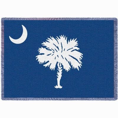 South Carolina State Palmetto Moon Blue Flag Stadium Blanket 48x69 in. - 666576111764 - 4841-A