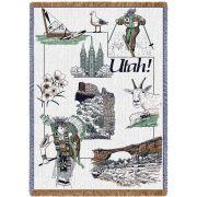 Utah Blanket 48x69 inch