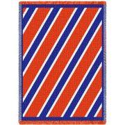 Spirit Blue and Orange Small Blanket 48x35 inch