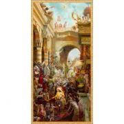 """Triumphant Entry"" 3D Lenticular Art By Tom Dubois 12 x 24"