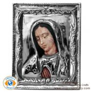 Pewter Picture Lady of Guadalupe (LRG)