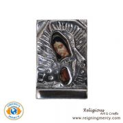 Pewter Picture of Our Lady of Guadalupe (SM)