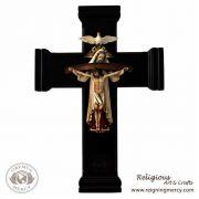 3D Holy Trinity Wooden Cross