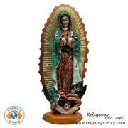 """Virgin de Guadalupe Statue 7"""""""