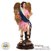 """Saint Barachiel Statue 8.25"""""""