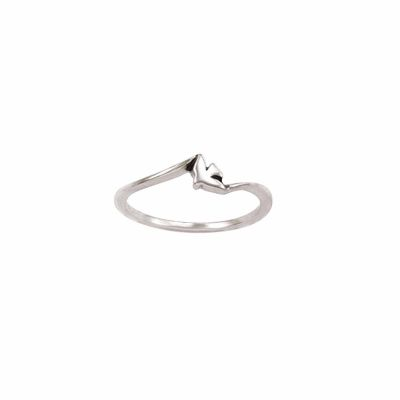 Sterling Silver Ladies  Dove Christian Ring - Thin Band -  - 511-822-277X